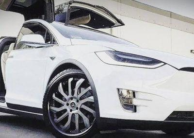Tesla X Maniago Gun Metal